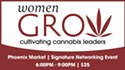 A Pair of Tickets to Women Grow, Cultivating Cannabis Leaders Summit